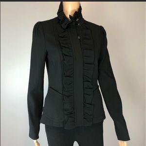 Tracy Reese New York Ruffle Jacket/Blazer